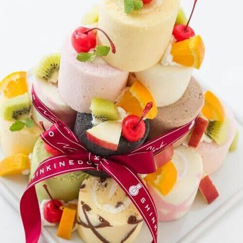 お城みたいなケーキ④