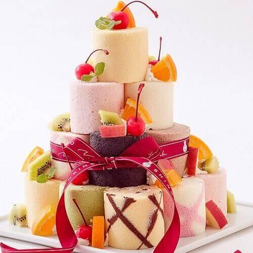 お城みたいなケーキ⑤