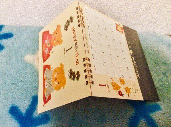 カレルチャペック卓上カレンダー2019-2