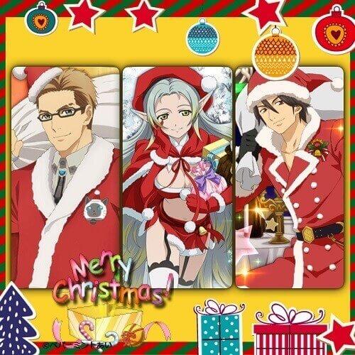 クリスマスユリウス&ミュゼ&アルヴィン