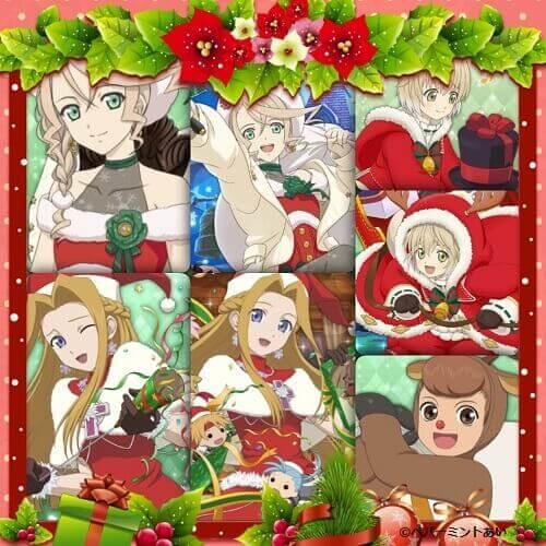 2018クリスマスキャラ