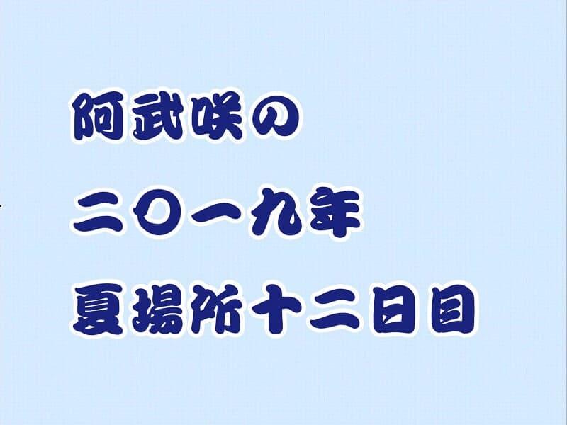 阿武咲の2019年夏場所12日目アイキャッチ